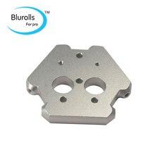 3D printer accessories aluminum all-metal M3 delta Kossel fisheye effector aluminum CNC Metal cyclop/Chimera effector