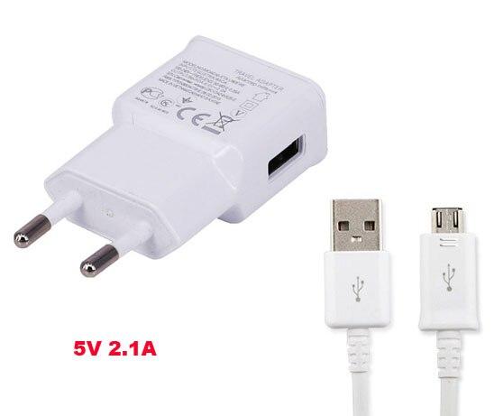 Адаптеры питания мобильного телефона ЕС Путешествия Зарядное устройство 2.1a + USB кабель для <font><b>LG</b></font> радость H220, <font><b>LG</b></font> Leon 4 г LTE h340n, G4 Стилусы ls770, <font><b>LG</b></font> <font><b>V10</b></font>