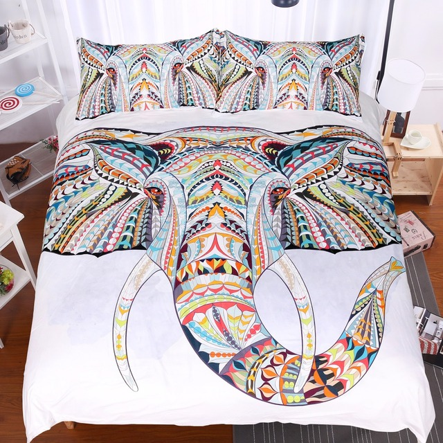Bohemian Elephant Bedding Set
