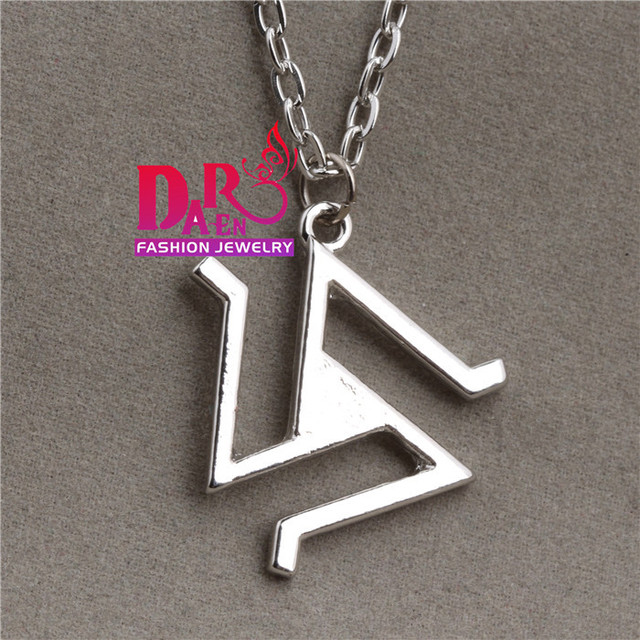 Teen Wolf Symbols Necklace In Pendant Necklaces From Jewelry