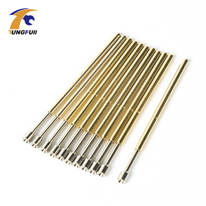 Image 2 - Spring Test Probe Best Promotion 500 Pieces P50 P100 Pogo Pin Phosphorus Brass Gilded Stainless Steel Wire