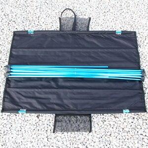 Image 4 - חיצוני שולחן נייד מתקפל קמפינג ריהוט מחשב שולחנות פיקניק גודל S L 6061 אל אור צבע אנטי להחליק מתקפל שולחן