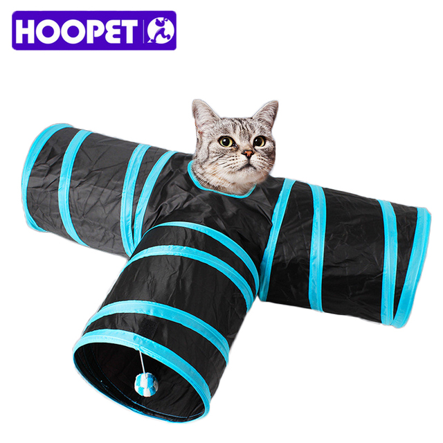 Indoor Foldable Cat Tunnel 3 Holes Play Toy Crinkle Cat Tent Tunnel Bed With Ball 80cm  sc 1 st  AliExpress.com & Indoor Foldable Cat Tunnel 3 Holes Play Toy Crinkle Cat Tent ...