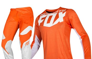 2019 niegrzeczny lisa MX 360 Kila pomarańczowy Jersey spodnie Motocross Dirt bike Off droga dla dorosłych wyścigi zestaw narzędzi tanie i dobre opinie MX racing Poliester i bawełna Mężczyźni Kombinacje