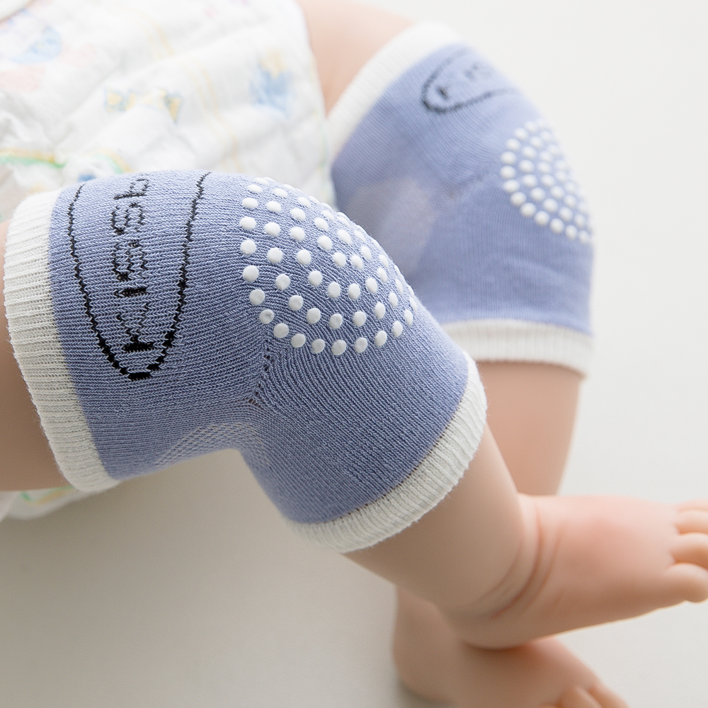 Soft Mesh Terry Baby Leg Warmers Toddler Kids Kneepad Protector Non-Slip Dispensing Safety Crawling Well Knee Pads For Child