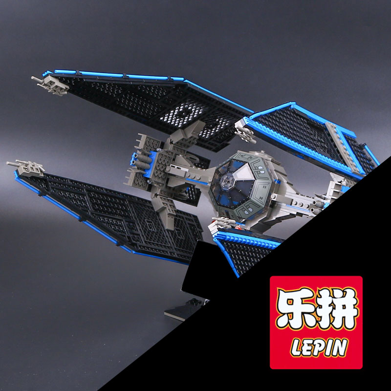 703pcs Lepin 05044 Star Series War Limited Edition The TIE Interceptor Building Blocks Bricks Model Educational Gifts Toys 7181 lepin 05035 star wars death star limited edition model building kit millenniums blocks puzzle compatible legoed 75159