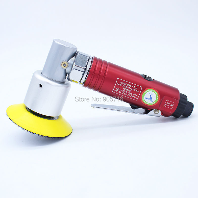 3 Air Sander Pneumatic Polishing Machine 90 Degree Pneumatic Polisher Sander Tool 4 inch disc type pneumatic polishing machine 100mm pneumatic sander sand machine bd 0145