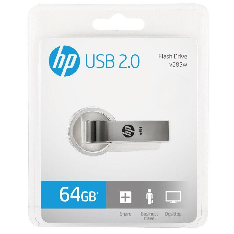 Original HP usb flash drive cle usb 16gb 32gb 64gb memoria usb key metal Pendrive newest disk on key pen drive Stick Dropship (5)
