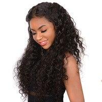 360 Синтетические волосы на кружеве al парик предварительно сорвал с волосы младенца свободная волна Синтетические волосы на кружеве человеч
