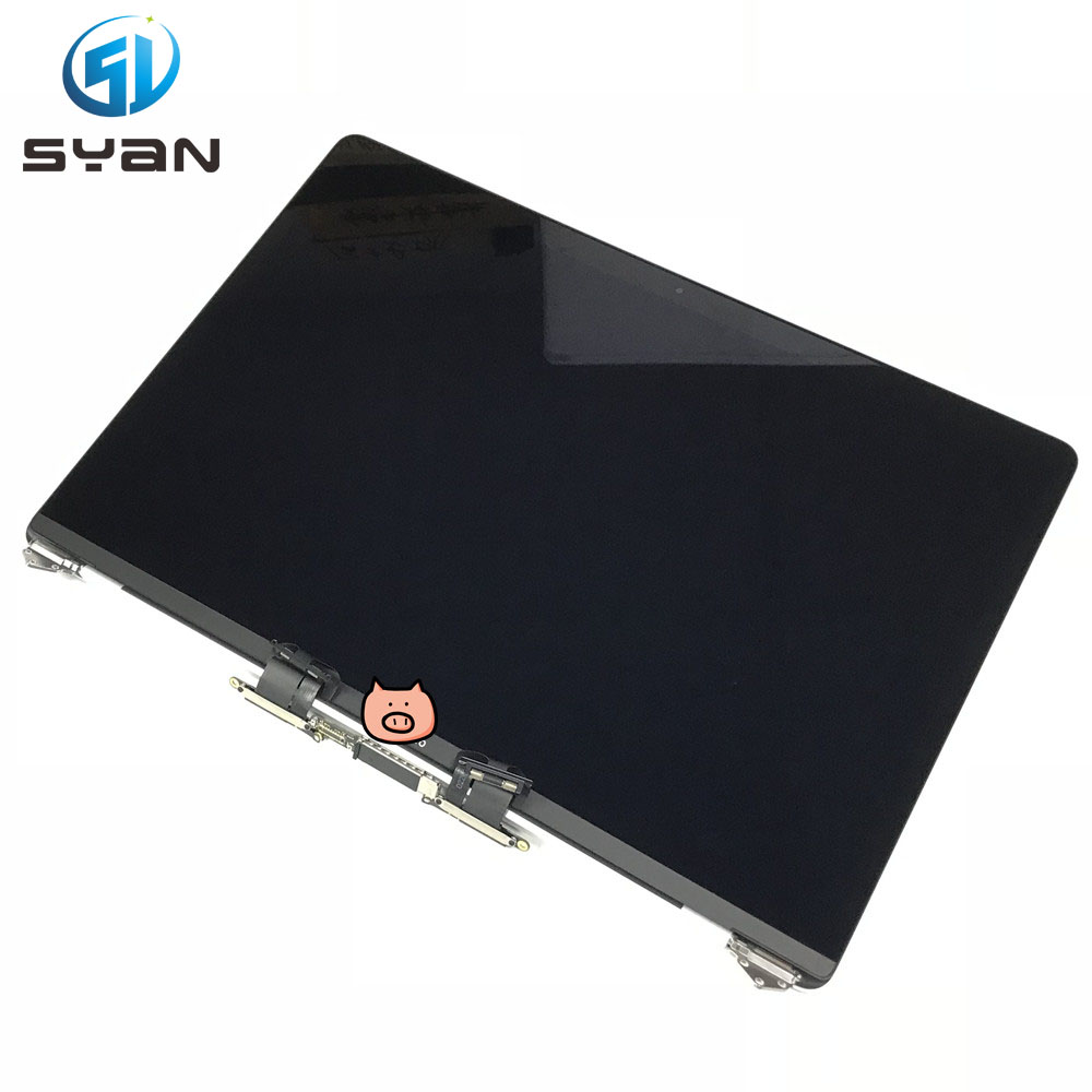 LCD Screen Assembly For Macbook Pro Retina 15.4 A1707 LCD LED SCREEN GLASS DISPLAY 2016-2017 Silver Grey