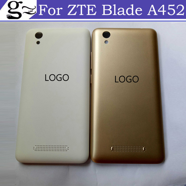 5.0inch 100% NEW For Blade D2 T620 ZTE A452 Full Battery Cover Back Cover Door Housing Case tested good