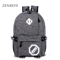 ZENBEFE New Arrival Backpack Fashion Unisex Travel Backpack Cool School Bag For Teenager Women Bag Leisure