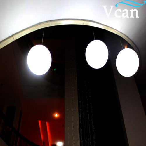 5a02d7206 PE Plastic Light Hanging Ball white color for your beautiful house VC-H350