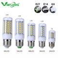 Ultra Bright SMD5730 E27 E14 G9 CONDUZIU a lâmpada 7 12 15 18 20 W 220 V 110 V ângulo de 360 Lâmpada LED de Milho luz Lustre 24 36 48 56 69 Led