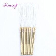 1 шт. медная ручка вентиляционные иглы петля для нити для микро бусин инструменты для наращивания волос