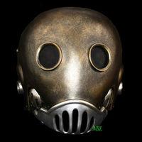 Horror The Clockwork Man Masks Halloween Hellboy Movie Masquerade Kroenen Full Face Helmet Resin Mask Adult Size Cosplay Prop