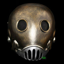 Horror De Clockwork Man Maskers Halloween Hellboy Movie Masquerade Kroenen Integraalhelm Hars Masker Volwassen Grootte Cosplay Prop