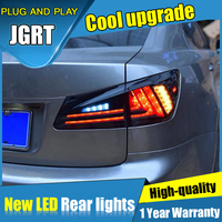 For IS300/350 Tail Lamp car Styling for Lexus IS250 LED Taillights 2006 2012 Rear Lamp Fog Light DRL+Brake+Park+Signal lights