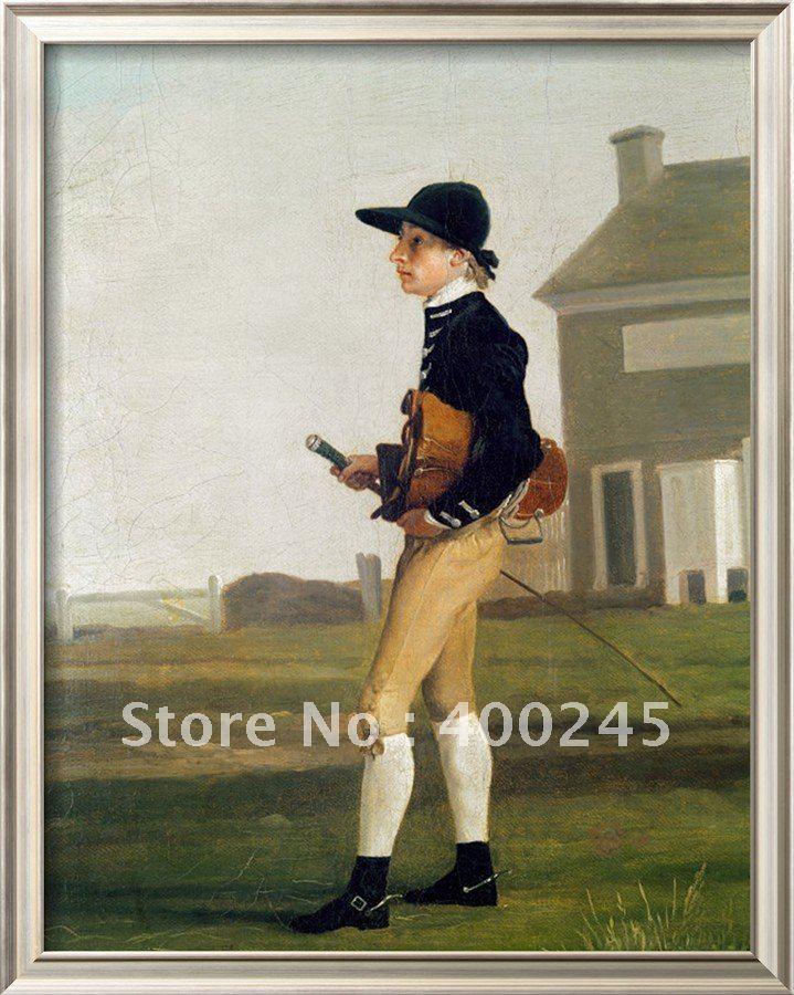 Пейзаж картина маслом Современный художественный портрет юного жокея Джорджа стаббса репродукция ручной работы высокого качества