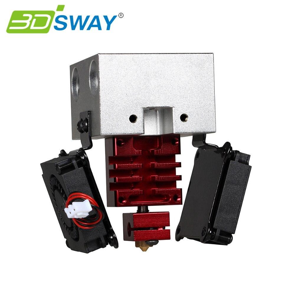 ватрушки slider тюбинг slider комфорт d 90 см камера 16 польша замок на молнии 3DSWAY X Axis Slider Hign Precision 3D Printer Print Head Kit with Cooling Fans Customized Extrusion Solution Welcome 0.4/1.75mm