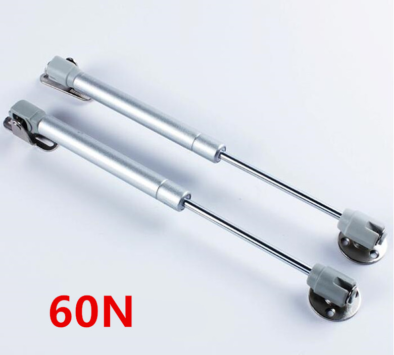 New 60N Furniture Hinge Kitchen Cabinet Door Lift Pneumatic Support Hydraulic Gas Spring Stay Hold Pneumatic Hardware