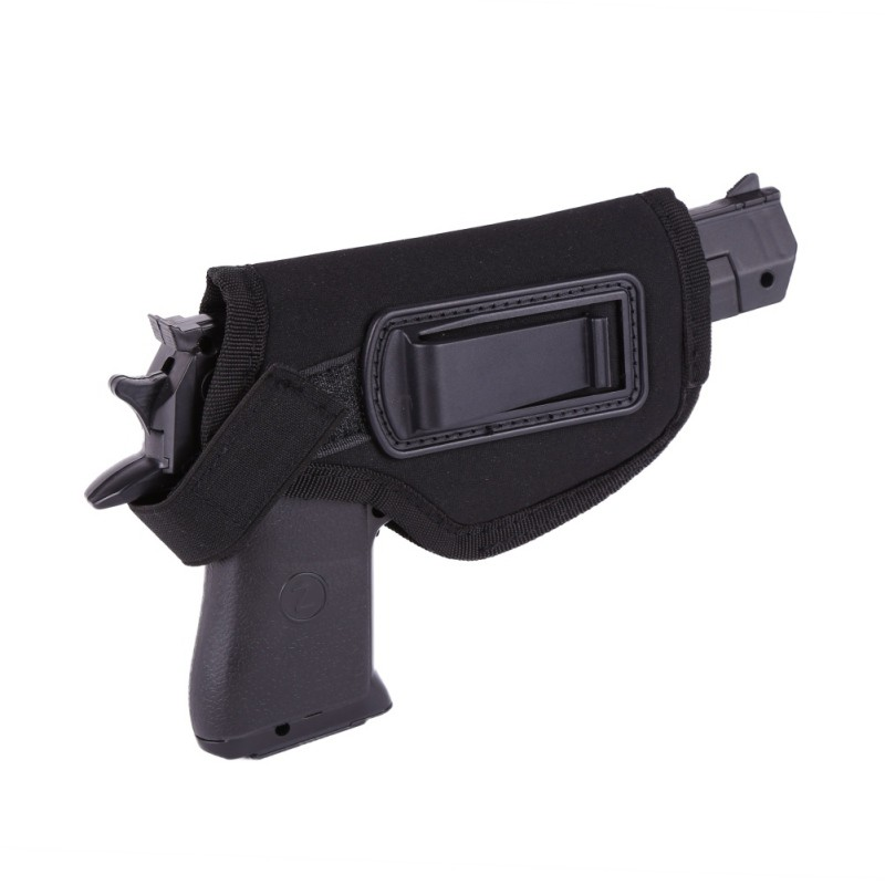 Hunting Accessories Pistol Black Holster EVA Styrofoam With Metal Clips Nice Hidden Tactical Waist Sheath Durable For Right Hand