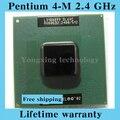 Пожизненная гарантия Pentium 4-M 2.4 ГГц ноутбук процессоры ноутбук процессора 400 мГц компьютер оригинальной аутентичной