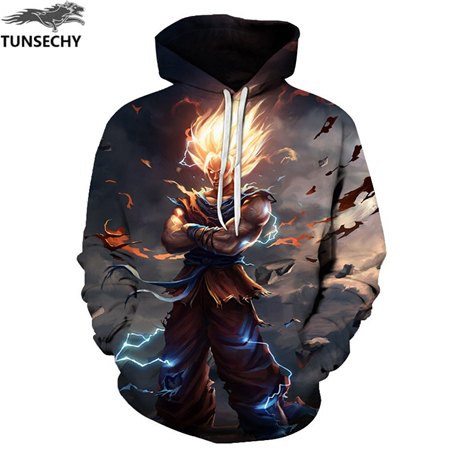 shop with crypto buy Goku Print Men/Women 3D Sweatshirts Print Milk Space Galaxy Hooded Hoodies Unisex pay with bitcoin