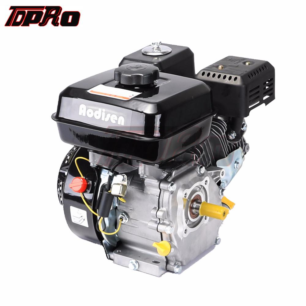 TDPRO New 7HP 4-Stroke 210cc Engine Motor Petrol 170F Pull Start Gasoline Fit Lawn Mower Go Kart Generator Trowel Machine