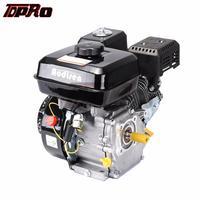 TDPRO New 7HP 4 Stroke 210cc Engine Motor Petrol 170F Pull Start Gasoline Engine Fit Lawn Mower Go Kart Generator Trowel Machine