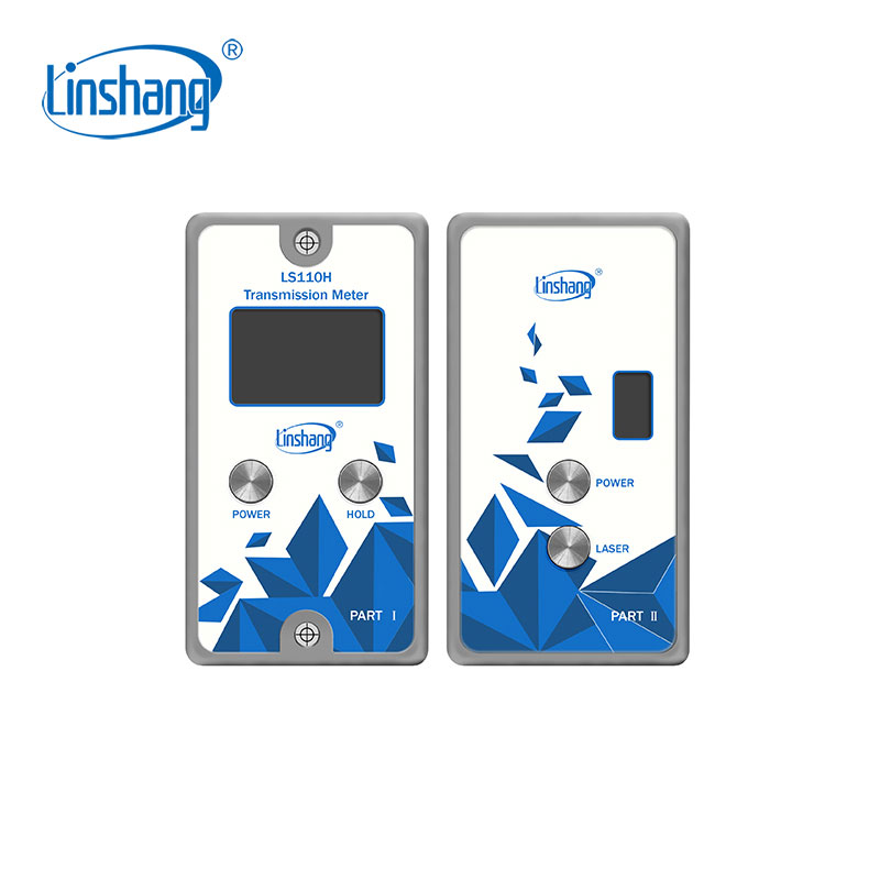 Linshang LS110H Split Transmission Meter with IR rejection 1400nm for automobile metal film installed glass front