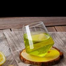 Brand 2 Pattern Irregular Wine Glass Lead-free Heat Resistant Transparent Crystal Beer Whiskey Brandy Cup Drinkware Bar Gifts