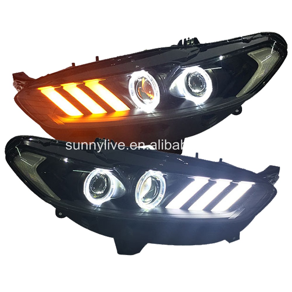 Fusion titanium projector lens led light 2013 2015 for ford for mondeo china