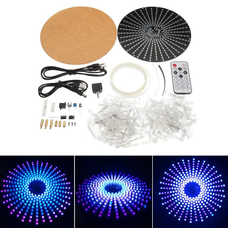 18*18 Électronique Aurora Électronique Kit DIY RVB Module LED Flash Kit Lumière Colorée Cube LED Gradient Lampe