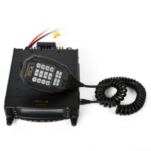Car walkie talkie Mobile Truck Radio Transceiver Dual band VHF/UHF with DTMF MIC and scrambler function TC-MAUV11