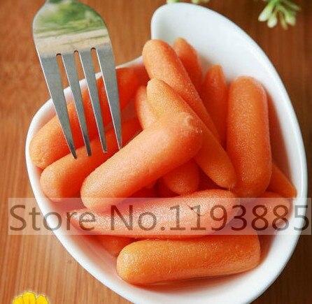 200pcs Little Finger Carrot Mini Carrots Orange Juicy Sweet Vegetable Seeds vegetable seeds for home garden planting