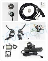 36V 48V 1500W 45A  фара для электровелосипеда в бесщеточный синусоидным контроллером наборы восстанавливающим и обратный LCD3 Скорость Сенсор PAS Эле...