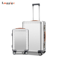 Cabin 100% Full Aluminum body Luggage,Matte Suitcases with Spinner Rolling,Multiwheel Nniversal wheel Travel Bag Carry Ons