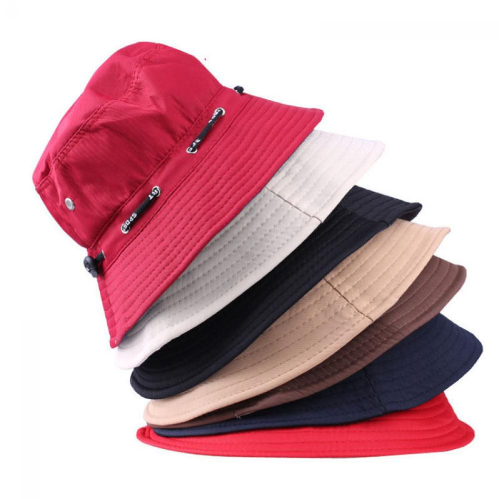 1PC Unisex Women Men Bucket Hat Boonie Hunting Fishing Outdoor Cap Men s  Summer Autumn Sun Hats 2016 Hot 4Colors a42814f6a5be