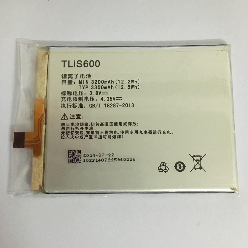 3.8V 3200mAh Old Version TLiS600 / 396686P For TCL S720 S720T S750T S725T P728M I718M 3N M2U M2L M2M Battery