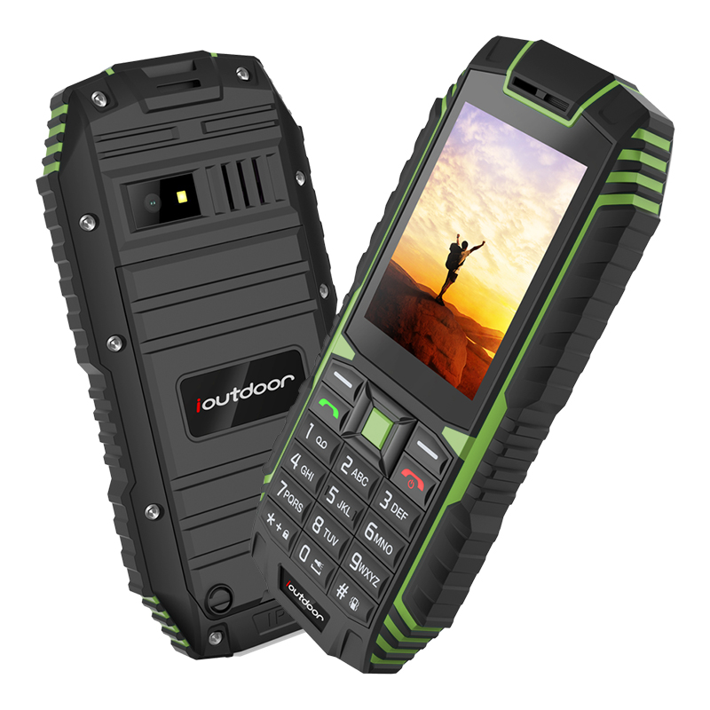 Image 4 - Ioutdoor T1 IP68 rugged cell phone Russian keyboard Waterproof shockproof mobile phone 2MP Camera wireless FM unlocked phones-in Cellphones from Cellphones & Telecommunications