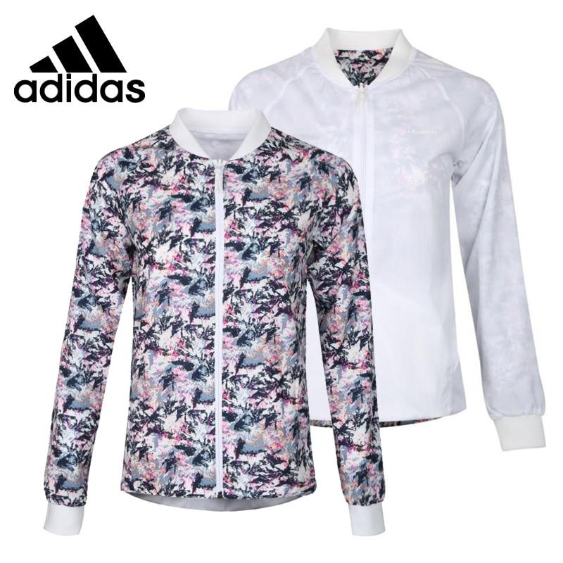 Original New Arrival 2018 Adidas Neo Label W CS WINDBREAKE Reversible Women's jacket Sportswear original new arrival 2017 adidas neo label w woven s pants women s pants sportswear