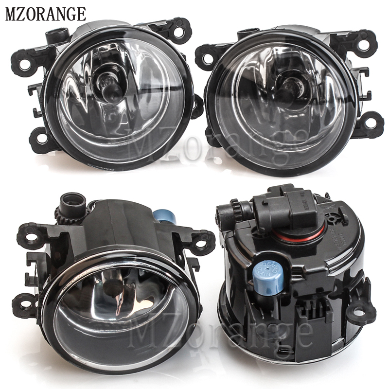 MZORANGE 2PCS H11 Halogen Fog Lights Fog Lamp Assembly Fog Light For Mitsubishi Outlander L200 Pajero Grandis Galant 2003-2015