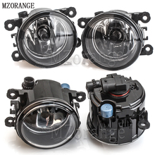 MZORANGE 2PCS H11 Halogen Fog Lights Fog Lamp Assembly Fog Light For Mitsubishi Outlander L200 Pajero Grandis Galant 2003-2015 цены