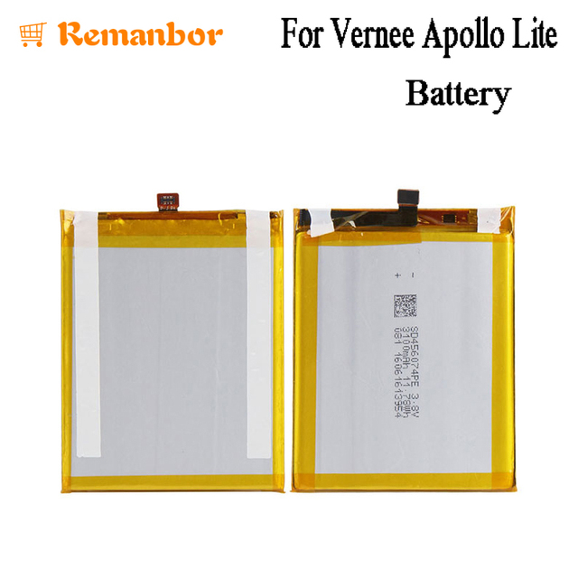 Remanbor For Vernee Apollo Lite Battery 3100mah Smartphone Replacement Accessary
