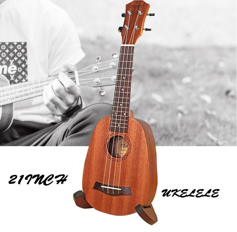 BeatBox 21 pouces ukulélé 4 cordes Ukelele Hawaii basse à cordes Instrument de musique