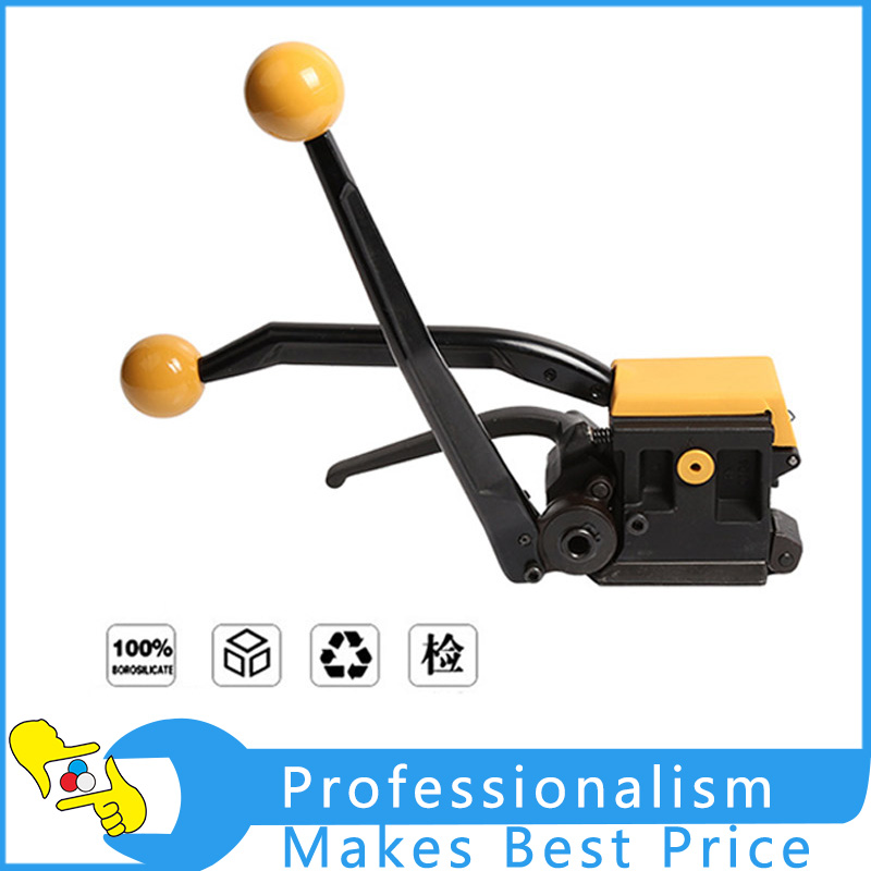A333 Packing Machine Manual Buckle Steel Strip Strapping Tool Packing Straps Carton Banding Machine portable manual steel strapping tool seal free 1 2 3 4 handheld packaging equipment without seals steel banding machine a333