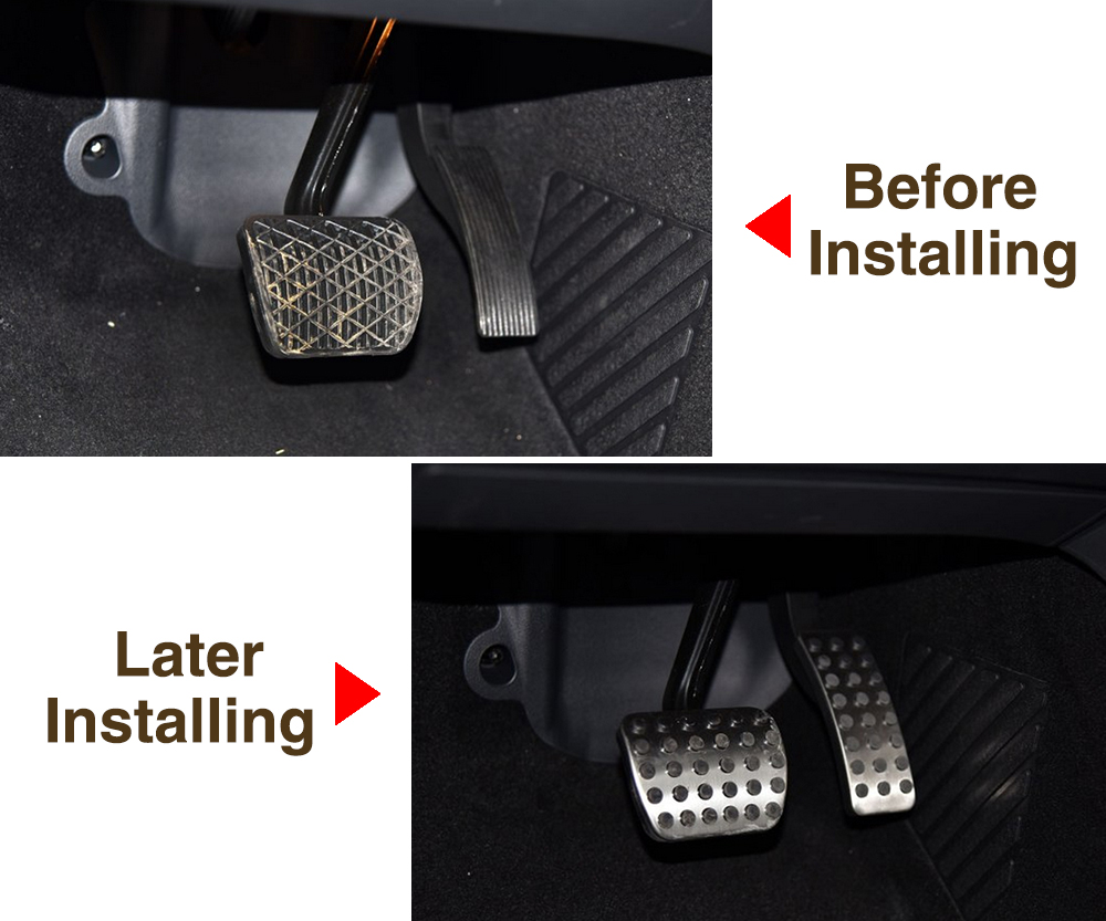 without Gas Fuel Brake Foot Pedals Fit For Mercedes Benz A B CLA GLA M GL R Class R320 ML63 ML320 ML400 R350 GL400 GL63 R400 W Accessories