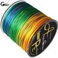 Леска плетеная из 8 нитей  300 м  многоцветная супер прочная японская леска из полиэтилена с мультифиламентом  10LB 100LB 200LB