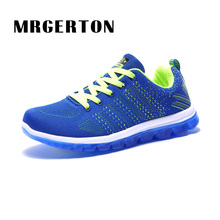 2017 Professional Mens Running Shoes Breathable Outdoor Trainers Walking Sport Shoes Man Athletic Sport Sneakers  MR22402